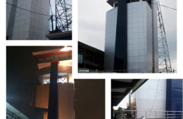 Menara Navigasi Tanjung Perak Surabaya